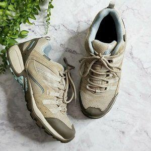 Merrell | Tuskora Waterproof Brown Hiking Sneakers